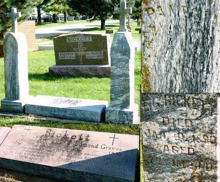 BICKETT, PAMELIA - Nodaway County, Missouri   PAMELIA BICKETT - Missouri Gravestone Photos