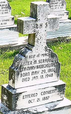 BROECKELMANN, ANNA MARY - Nodaway County, Missouri | ANNA MARY BROECKELMANN - Missouri Gravestone Photos