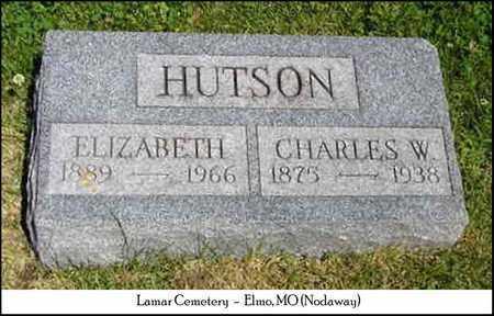 HUTSON, CHARLES - Nodaway County, Missouri   CHARLES HUTSON - Missouri Gravestone Photos