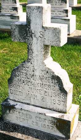 KUERZ, MARIA KATHERINE - Nodaway County, Missouri | MARIA KATHERINE KUERZ - Missouri Gravestone Photos