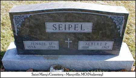 SEIPEL, ALBERT PHILLIP - Nodaway County, Missouri | ALBERT PHILLIP SEIPEL - Missouri Gravestone Photos