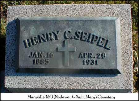 SEIPEL, HENRY - Nodaway County, Missouri | HENRY SEIPEL - Missouri Gravestone Photos