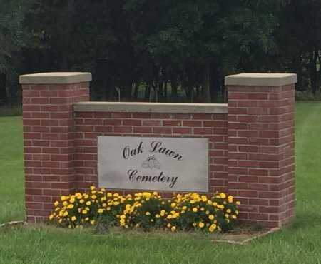 *, CEMETERY SIGN - Nodaway County, Missouri | CEMETERY SIGN * - Missouri Gravestone Photos