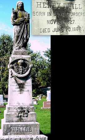 THILL, HENRY - Nodaway County, Missouri | HENRY THILL - Missouri Gravestone Photos