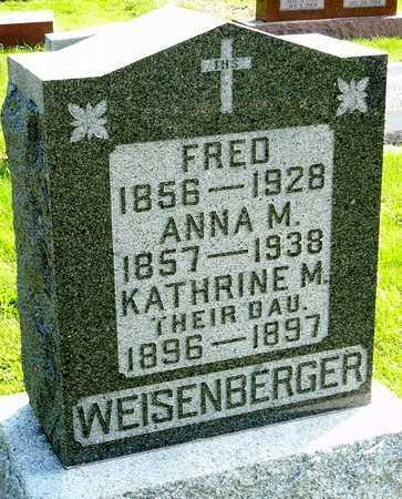 "WEISENBERGER, FRED ""FRITZ"" - Nodaway County, Missouri | FRED ""FRITZ"" WEISENBERGER - Missouri Gravestone Photos"