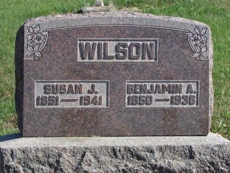 WILSON, SUSAN JANE - Nodaway County, Missouri | SUSAN JANE WILSON - Missouri Gravestone Photos