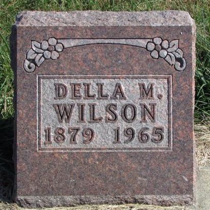 WILSON, DELLA M. - Nodaway County, Missouri | DELLA M. WILSON - Missouri Gravestone Photos