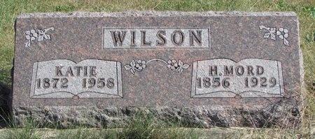 "WILSON, HUGH MORDICIA ""MORD"" - Nodaway County, Missouri   HUGH MORDICIA ""MORD"" WILSON - Missouri Gravestone Photos"
