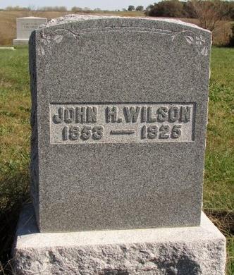 WILSON, JOHN H. - Nodaway County, Missouri | JOHN H. WILSON - Missouri Gravestone Photos