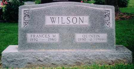 WILSON, QUINTIN - Nodaway County, Missouri | QUINTIN WILSON - Missouri Gravestone Photos