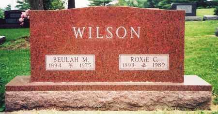 WILSON, ROXIE CORDOR - Nodaway County, Missouri | ROXIE CORDOR WILSON - Missouri Gravestone Photos