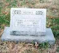 ANDERSON, EMMA - Osage County, Missouri   EMMA ANDERSON - Missouri Gravestone Photos