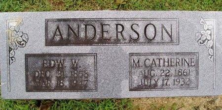 ANDERSON, M. CATHERINE - Osage County, Missouri | M. CATHERINE ANDERSON - Missouri Gravestone Photos