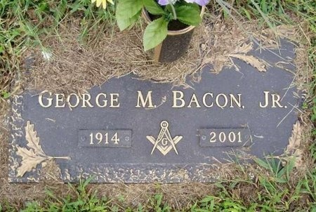 BACON, GEORGE M. JR. - Osage County, Missouri | GEORGE M. JR. BACON - Missouri Gravestone Photos