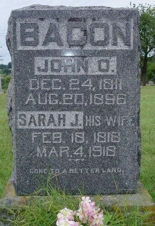 BACON, JOHN O. - Osage County, Missouri | JOHN O. BACON - Missouri Gravestone Photos