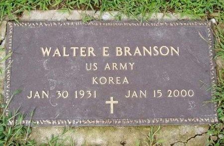 BRANSON, WALTER E (VETERAN KOR) - Osage County, Missouri | WALTER E (VETERAN KOR) BRANSON - Missouri Gravestone Photos