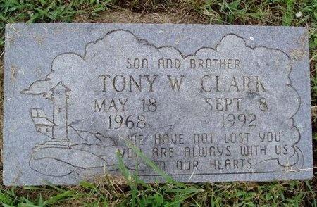 CLARK, TONY W. - Osage County, Missouri | TONY W. CLARK - Missouri Gravestone Photos