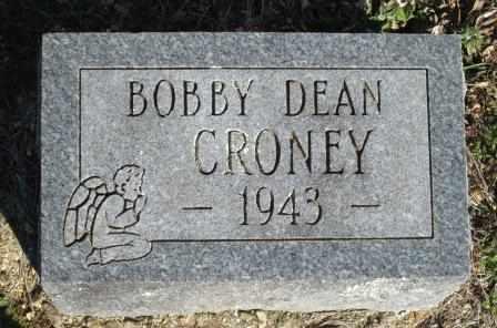 CRONEY, BOBBY DEAN - Ozark County, Missouri | BOBBY DEAN CRONEY - Missouri Gravestone Photos