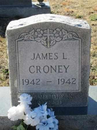 CRONEY, JAMES L - Ozark County, Missouri | JAMES L CRONEY - Missouri Gravestone Photos