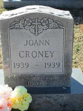 CRONEY, JOANN - Ozark County, Missouri | JOANN CRONEY - Missouri Gravestone Photos