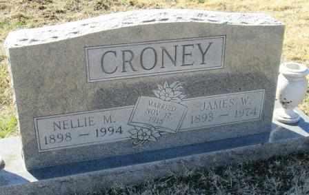 CRONEY, NELLIE MATILDA - Ozark County, Missouri | NELLIE MATILDA CRONEY - Missouri Gravestone Photos