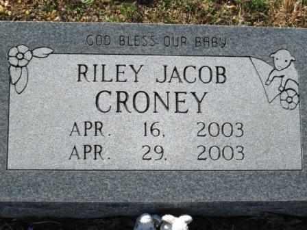 CRONEY, RILEY JACOB - Ozark County, Missouri   RILEY JACOB CRONEY - Missouri Gravestone Photos