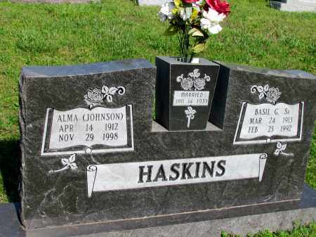 HASKINS, ALMA - Ozark County, Missouri   ALMA HASKINS - Missouri Gravestone Photos
