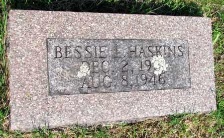 HASKINS, BESSIE L - Ozark County, Missouri | BESSIE L HASKINS - Missouri Gravestone Photos