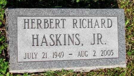 HASKINS, JR, HERBERT RICHARD - Ozark County, Missouri   HERBERT RICHARD HASKINS, JR - Missouri Gravestone Photos