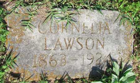 LAWSON, CORNELIA - Ozark County, Missouri | CORNELIA LAWSON - Missouri Gravestone Photos