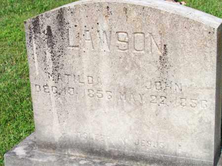 LAWSON, JOHN - Ozark County, Missouri | JOHN LAWSON - Missouri Gravestone Photos