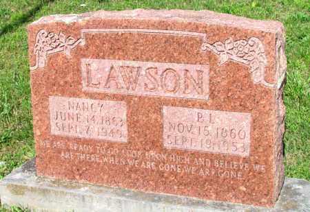 LAWSON, NANCY - Ozark County, Missouri | NANCY LAWSON - Missouri Gravestone Photos