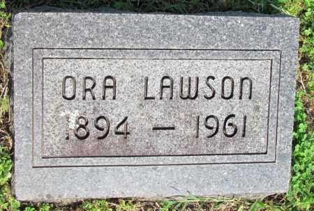 LAWSON, ORA - Ozark County, Missouri | ORA LAWSON - Missouri Gravestone Photos