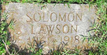 LAWSON, SOLOMON - Ozark County, Missouri | SOLOMON LAWSON - Missouri Gravestone Photos