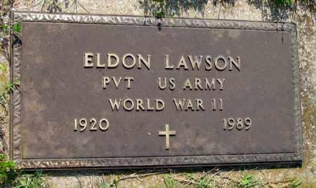 LAWSON (VETERAN WWII), ELDON - Ozark County, Missouri   ELDON LAWSON (VETERAN WWII) - Missouri Gravestone Photos