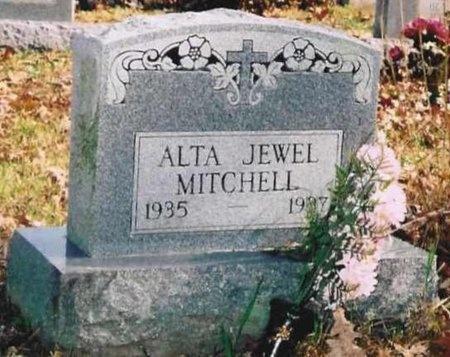 MITCHELL, ALTA JEWELL - Ozark County, Missouri | ALTA JEWELL MITCHELL - Missouri Gravestone Photos