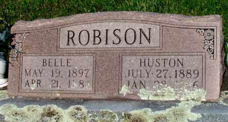 ROBISON, BELLE - Ozark County, Missouri | BELLE ROBISON - Missouri Gravestone Photos