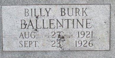 BALLENTINE, BILLY BURK - Pemiscot County, Missouri | BILLY BURK BALLENTINE - Missouri Gravestone Photos