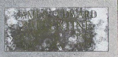 BALLENTINE, JAMES EDWARD - Pemiscot County, Missouri | JAMES EDWARD BALLENTINE - Missouri Gravestone Photos