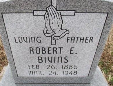 BIVINS, ROBERT E. - Pemiscot County, Missouri   ROBERT E. BIVINS - Missouri Gravestone Photos