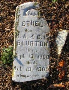BLURTON, ETHEL - Pemiscot County, Missouri | ETHEL BLURTON - Missouri Gravestone Photos