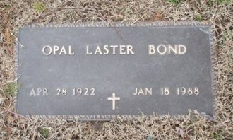 BOND, OPAL - Pemiscot County, Missouri | OPAL BOND - Missouri Gravestone Photos