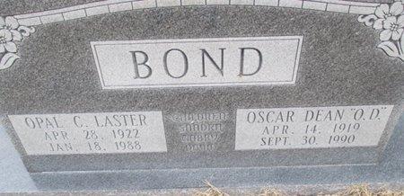BOND, OPAL C. - Pemiscot County, Missouri | OPAL C. BOND - Missouri Gravestone Photos