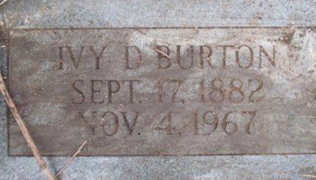 BURTON, IVY DEE - Pemiscot County, Missouri | IVY DEE BURTON - Missouri Gravestone Photos