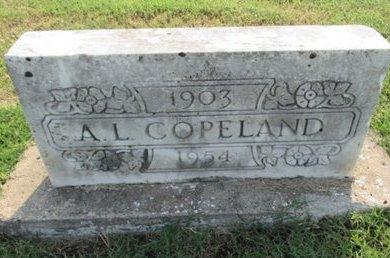 COPELAND, AUBRAY LEE - Pemiscot County, Missouri | AUBRAY LEE COPELAND - Missouri Gravestone Photos