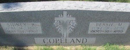 COPELAND, BESSIE M - Pemiscot County, Missouri | BESSIE M COPELAND - Missouri Gravestone Photos
