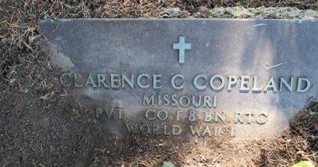 COPELAND, CLARENCE CHELSEY (VETERAN WWI) - Pemiscot County, Missouri | CLARENCE CHELSEY (VETERAN WWI) COPELAND - Missouri Gravestone Photos