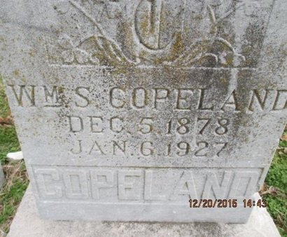 COPELAND, WILLIAM SIMON - Pemiscot County, Missouri | WILLIAM SIMON COPELAND - Missouri Gravestone Photos