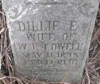 COWELL, DILLIE E. - Pemiscot County, Missouri | DILLIE E. COWELL - Missouri Gravestone Photos
