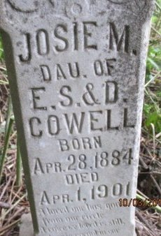 COWELL, JOSIE M. - Pemiscot County, Missouri | JOSIE M. COWELL - Missouri Gravestone Photos